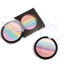 Beauty Rainbow Contour Shading Powder Face Bronzer Highlight Shadow Concealer~