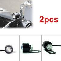 2Pcs/Set LED Motorcycle Handlebar Spotlight Headlight Driving Light Lamp JP