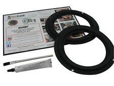 """Klipsch K-9-K, K9K, 8"""" Woofer Rubber Edge Speaker Repair Kit RSK-803 (PAIR)"""