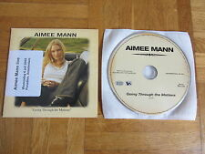 AIMEE MANN Going Through The Motions 2005 EUROPEAN collectors CD single