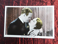 FAY WRAY - RALPH GRAVES  - FILM PARTNERS - POSTCARD - # PC19
