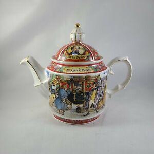 "Sadler CHARLES DICKENS SERIES 6"" Porcelain Teapot Tea Pot PICKWICK PAPERS"