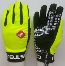 Fluorescent Yellow Brand New Castelli Scalda Winter Gloves Size Large
