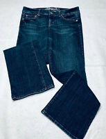 American Eagle Favorite Boyfriend Jeans Size 10 Womens Distressed Denim Stretch