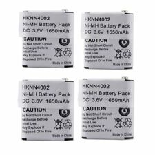 4x Kebt-071-C 56315 NiMh Battery for Motorola Ms350 Ms350R Em1000 Em1000R Series