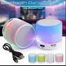 Portable Mini Bluetooth Speaker Wireless LED Bass Speaker W/ TF USB FM Radio lot
