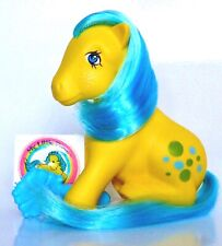my little pony g1*ITALY BUBBLES W/BRUSH+PUFFY STICKER+MORE VARIANT ITALY LISTED