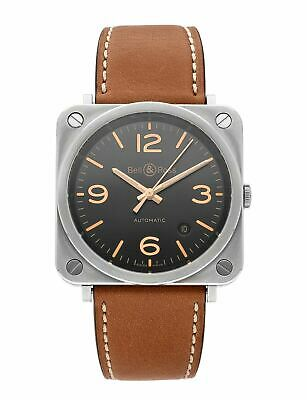 Bell & Ross BR S Automatic 39mm Stainless Steel Men's Watch BRS92-G-HE-ST