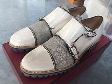 850$ Bally Porthos Double Monk Shoes Size US 13 Made in Switzerland