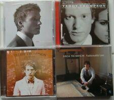 Teddy/Linda Thompson Lot of 4 CD's VERY GOOD / FREE SHIPPING
