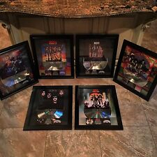 6 VERY RARE! KISS Platinum Record Disc Album Music Award  RIAA Gene Simmons