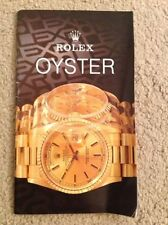 Rolex Watch Manuals and Guides