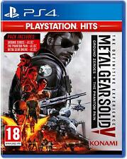 Metal Gear Solid V: la experiencia definitiva PS4 BRAND New Reino Unido Vendedor