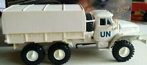 URAL 4320 - UN white camouflage awning militar TRUCK 6X6 w/ original box Elecon