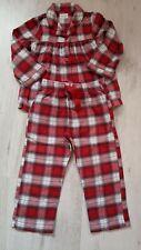Next Girls Flannel Tartan Pyjamas - Age 2-3 Years - Immaculate Condition