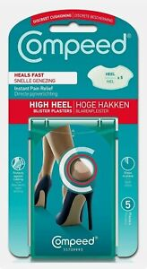 Compeed Fast Healing High Heels Stilettos Blister Plaster for Foot Pack of 5