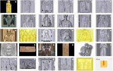 36pcs CNC 3D model in STL format ArtCAM (258 religion Catholic Christian icons)