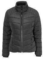 Ladies UK Plus Size 12 -18 Black Padded Jacket Coat