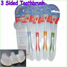 Hot sale 3-Sided Toothbrush ultrafine soft-bristle adult toothbrush for adults