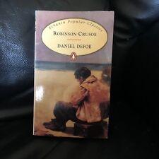 Rare Robinson Crusoe Original Novel