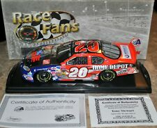 TONY STEWART INDEPENDENCE DAY PLATINUM SIGNED AUTOGRAPHED 1:24 DIE CAST NASCAR
