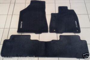 Toyota Kluger Carpet Floor Mat Set GSU55 Front & Rear Charcoal GENUINE NEW