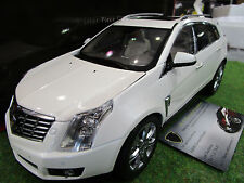 CADILLAC SRX 2014 blanc au 1/18 de KYOSHO G007W voiture miniature de collection