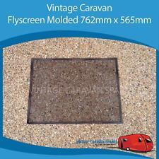 Caravan FLY SCREEN MOLDED 762MM x 565MM Square  Vintage Viscount Franklin