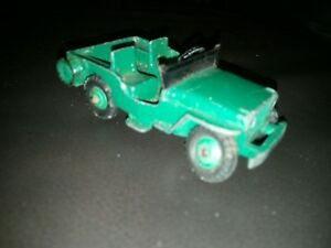 Dinky Jeep model. Made by Meccano. Made in England. OK condition.