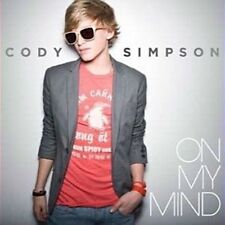 CODY SIMPSON On My Mind CD Single BRAND NEW w/ Mini Poster
