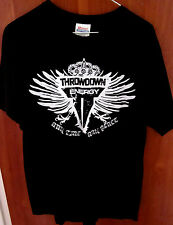 THROWDOWN ENERGY DRINK logo lrg T shirt MMA combat sports tee extreme OG