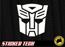 TRANSFORMERS AUTOBOT VINYL STICKER DECAL TO SUIT CAMARO RATCHET BUMBLEBEE