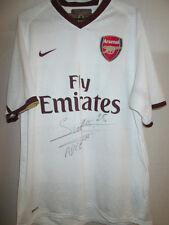 Arsenal 2008-2009 Away Football Shirt Signed by Adebayor with COA /31116