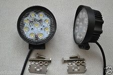 POWERFUL FRONT BULL NUDGE BAR & SPOT SMD LED LIGHTS DAY LAMP CAR SUV 4x4