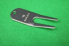Rolex Divot Golf Tool Pitch Repair Fork New Unused Key Ring Chain