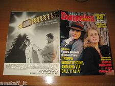 DdC 1988/1=ROMINA POWER=YLENIA CARRISI=RENZO ARBORE E NINO FRASSICA=GARY HART=