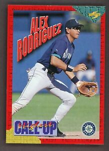 1994 Score Call Up Redemption #HC1 Alex Rodriguez RC ROOKIE Mariners
