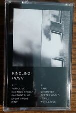 Kindling HUSH 2nd Album 6131 RECORDS New Sealed Black Colored Cassette Tape