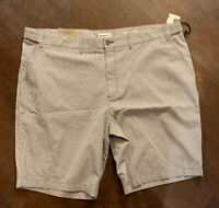 NWT Men's GOODFELLOW & CO Linden Flat Front Striped Shorts Size 46