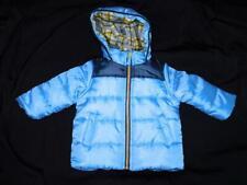 Carter's 18 Months Blue Coat Baby Boy Winter Fleece Lined Full Zip Hood Jacket