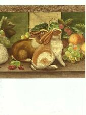 30694090 Raymond Waites Country Rabbit Wallpaper Border