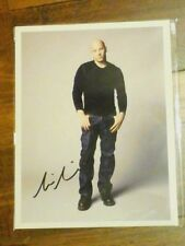 ACTOR VIN DIESEL AUTHENTIC AUTOGRAPH SIGNED 8.5x11 PHOTO WITH COA FAST & FURIOUS
