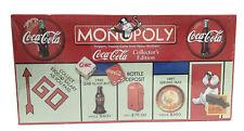 Coca Cola 1999 Collectors Edition Monopoly Board Game NEW Factory Sealed