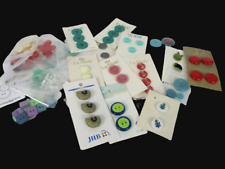 Vintage La Mode  button lot Plastics  Glass Assorted Mixed