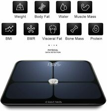 Innotech Smart Bluetooth Body Fat Scale Digital Bathroom Weight Weighing Scales