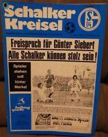 FC Schalke 04 + Schalker Kreisel 07.02.1976 Bundesliga gegen Rot Weiß Essen /519