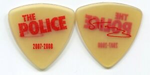 THE POLICE 2007 Reunion Tour Guitar Pick!!! STING custom concert stage Pick #4