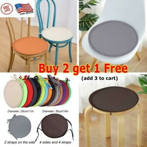 USA Round Garden Chair Pads Seat Cushion Outdoor Bistro Stool Patio Home Durable