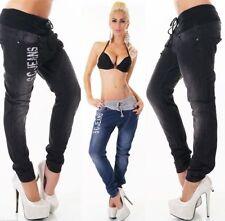 Plus Size Low Rise Boyfriend Jeans for Women