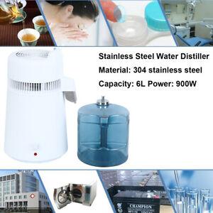 6L Wasser Destilliergerät Innenteil aus Edelstahl Water Distiller 900W